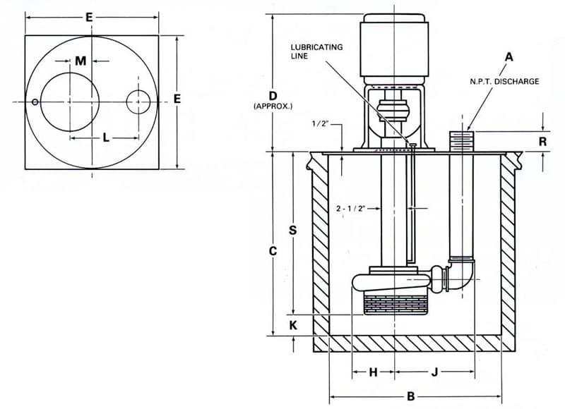 Sump Pump Industrial Sump Pump
