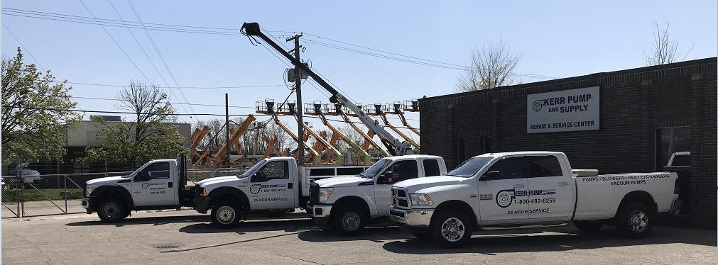 Kerr Pump & Supply Trucks