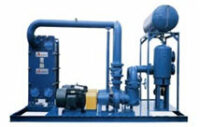 compressor cooling package at fertilizer plant